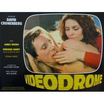 VIDEODROME Photo de film N10 - 21x30 cm. - 1983 - James Woods, David Cronenberg