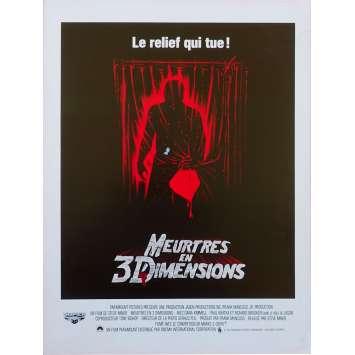 VENDREDI 13 - MEURTRES EN 3 DIMENSIONS Synopsis - 21x30 cm. - 1982 - Dana Kimmel, Steve Miner