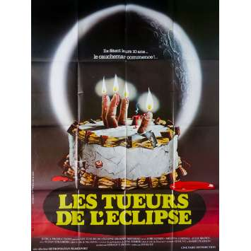 BLOODY BIRTHDAY Original Movie Poster - 47x63 in. - 1981 - Ed Hunt, Lori Lethin
