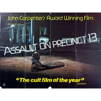 ASSAULT ON PRECINCT 13 Original Movie Poster - 30x40 in. - 1976 - John Carpenter, Austin Stoker