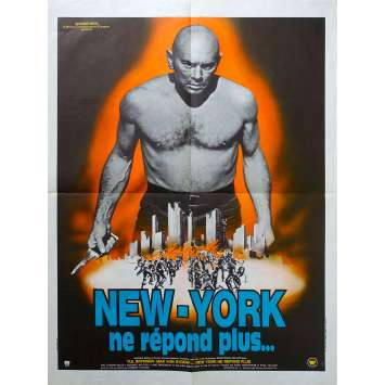 THE ULTIMATE WARRIOR Original Movie Poster - 23x32 in. - 1975 - Robert Clouse, Yul Brynner