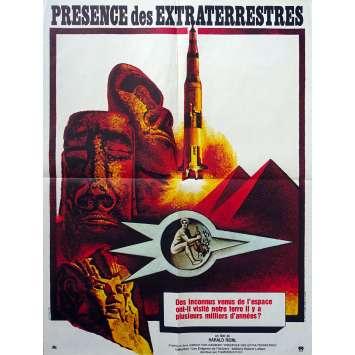 PRESENCE DES EXTRATERRESTRES Affiche de film - 60x80 cm. - 1970 - Heinz-Detlev Bock, Harald Reinl