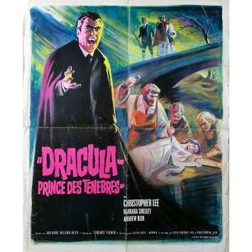 DRACULA PRINCE DES TENEBRES Affiche de film - 40x60 cm. - 1966 - Christopher Lee, Terence Fisher