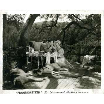 FRANKENSTEIN Photo de presse 310-1-71 - 20x25 cm. - 1931 - Boris Karloff, James Whale