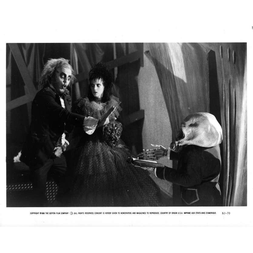 BEETLEJUICE Original Movie Still BJ-70 - 8x10 in. - 1988 - Tim Burton, Michael Keaton