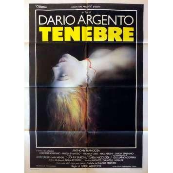 TENEBRES Affiche de film 100x140 - 1982, Dario Argento