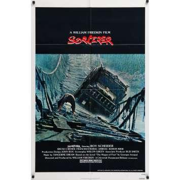 SORCERER Movie Poster 29x40 in. - 1977 - William Friedkin, Roy Sheider