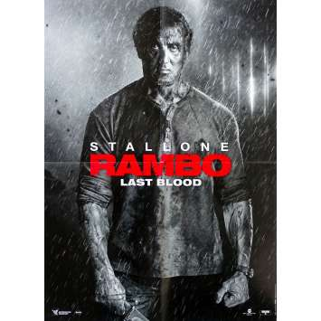 RAMBO - LAST BLOOD Affiche de film - 40x60 cm. - 2019 - Sylvester Stallone, Adrian Grunberg