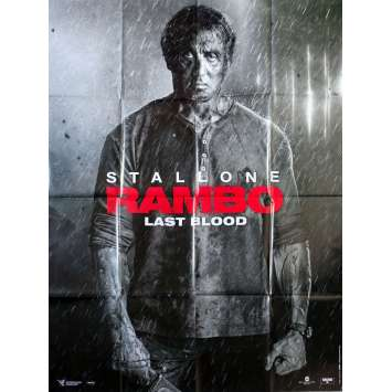 RAMBO - LAST BLOOD Original Movie Poster - 47x63 in. - 2019 - Adrian Grunberg, Sylvester Stallone