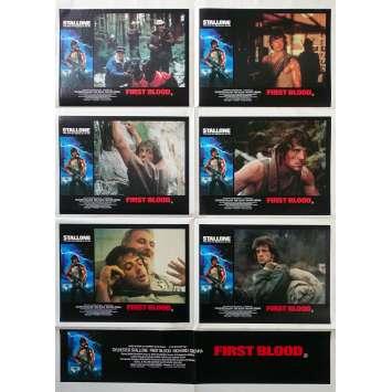 RAMBO Affiche de film - 70x102 cm. - 1982 - Sylvester Stallone, Ted Kotcheff