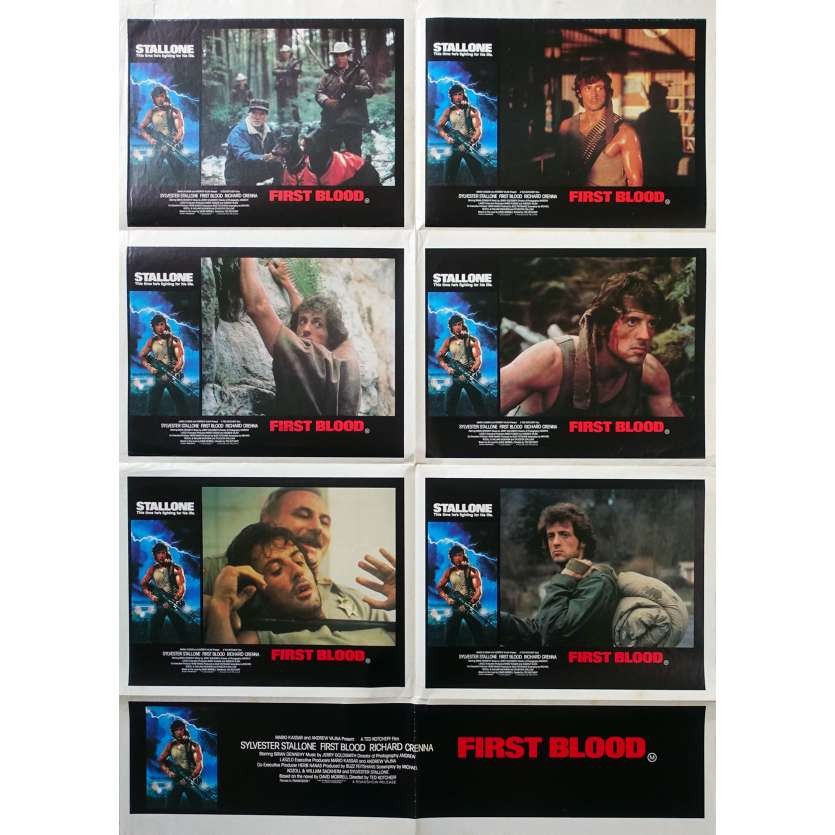 RAMBO - FIRST BLOOD Original Movie Poster - 29x40 in. - 1982 - Ted Kotcheff, Sylvester Stallone