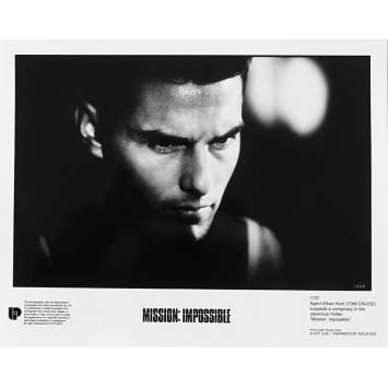 MISSION IMPOSSIBLE Photo de presse N1737 - 20x25 cm. - 1996 - Tom Cruise, Brain de Palma