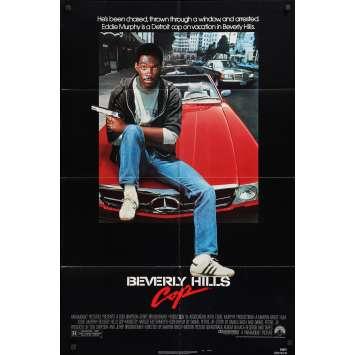 BEVERLY HILLS COP Original Movie Poster - 27x40 in. - 1984 - Martin Brest, Eddy Murphy