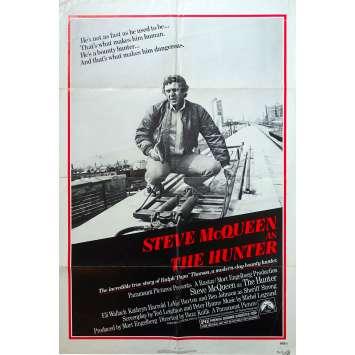 LE CHASSEUR Affiche de film - 69x102 cm. - 1980 - Steve McQueen, Buzz Kulik