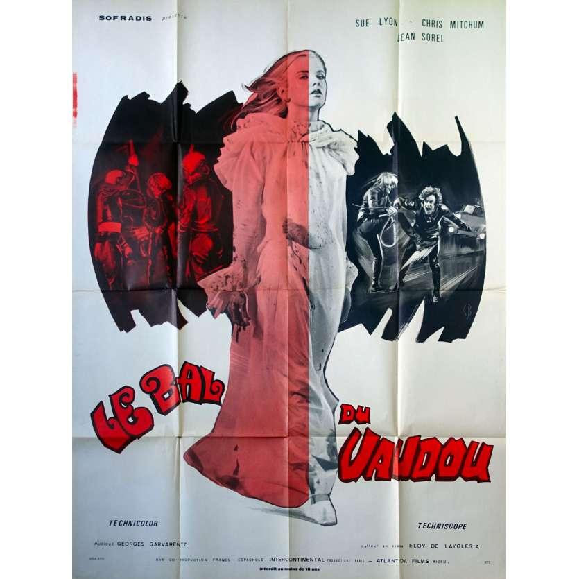 CLOCKWORK TERROR Original Movie Poster - 47x63 in. - 1973 - Eloy de la Iglesia, Sue Lyon
