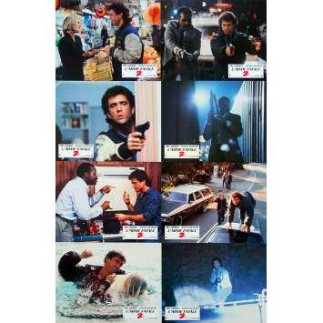 L'ARME FATALE 2 Photos de film x8 - 21x30 cm. - 1989 - Mel Gibson, Richard Donner