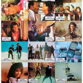 L'ARME FATALE Photos de film x12 - 21x30 cm. - 1987 - Mel Gibson, Richard Donner