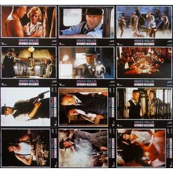 DERNIER RECOURS Photos de film x12 - 21x30 cm. - 1996 - Bruce Willis, Walter Hill