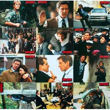 DANGER IMMEDIAT Photos de film x12 - 21x30 cm. - 1994 - Harrison Ford, Phillip Noyce