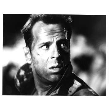 58 MINUTES POUR VIVRE Photo de presse N01 - 20x25 cm. - 1990 - Bruce Willis, Renny Harlin