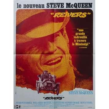 REIVERS Affiche de film - 60x80 cm. - 1969 - Steve McQueen, Mark Rydell