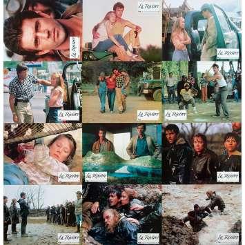 LA RIVIERE Photos de film x12 - 21x30 cm. - 1984 - Mel Gibson, Mark Rydell
