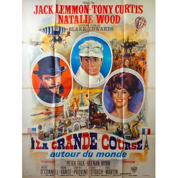 THE GREAT RACE Original Movie Poster - 47x63 in. - 1965 - Blake Edwards, Tony Curtis