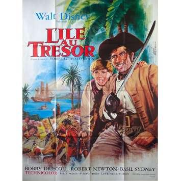 TREASURE ISLAND Original Movie Poster - 47x63 in. - 1950 - Byron Haskin, Bobby Driscoll