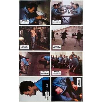 L'EVADE D'ALCATRAZ Photos de film x8 - 21x30 cm. - 1979 - Clint Eastwood, Don Siegel