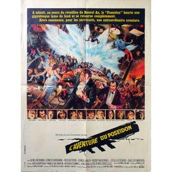 THE POSEIDON ADVENTURE Original Movie Poster - 23x32 in. - 1972 - Irwin Allen, Gene Hackman