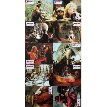 INDIANA JONES ET LE TEMPLE MAUDIT Photos de film x10 - 21x30 cm. - 1984 - Harrison Ford, Steven Spielberg