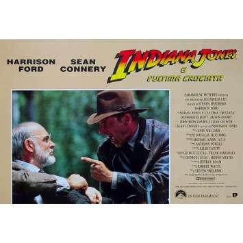 INDIANA JONES AND THE LAST CRUSADE Original Photobusta Poster N08 - 18x26 in. - 1989 - Steven Spielberg, Harrison Ford