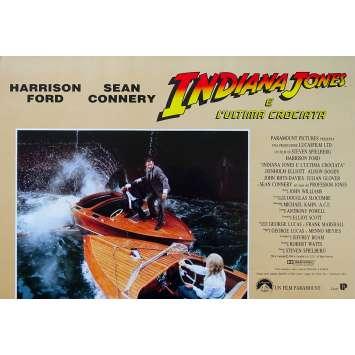 INDIANA JONES AND THE LAST CRUSADE Original Photobusta Poster N07 - 18x26 in. - 1989 - Steven Spielberg, Harrison Ford