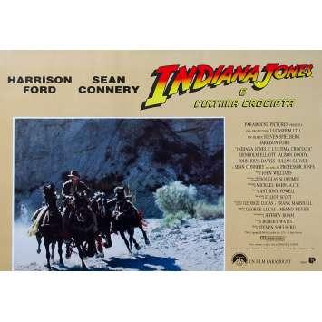 INDIANA JONES AND THE LAST CRUSADE Original Photobusta Poster N06 - 18x26 in. - 1989 - Steven Spielberg, Harrison Ford