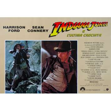 INDIANA JONES ET LA DERNIERE CROISADE Photobusta N05 - 46x64 cm. - 1989 - Harrison Ford, Steven Spielberg