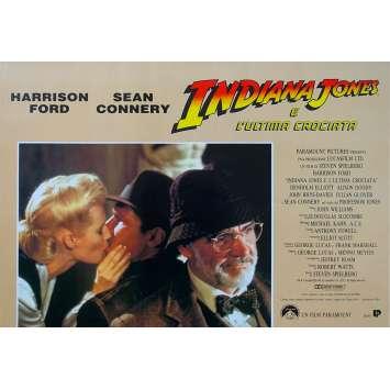 INDIANA JONES AND THE LAST CRUSADE Original Photobusta Poster N04 - 18x26 in. - 1989 - Steven Spielberg, Harrison Ford