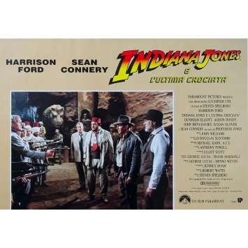 INDIANA JONES ET LA DERNIERE CROISADE Photobusta N03 - 46x64 cm. - 1989 - Harrison Ford, Steven Spielberg