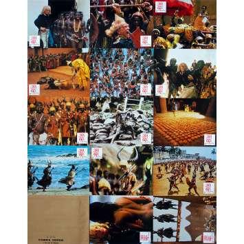 COBRA VERDE Photos de film x14 - 21x30 cm. - 1987 - Klaus Kinski, Werner Herzog