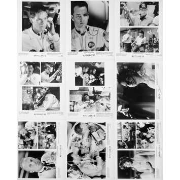 APOLLO 13 Photos de presse x9 - 20x25 cm. - 1995 - Tom Hanks, Ron Howard