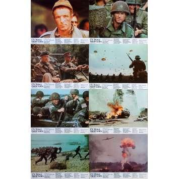 UN PONT TROP LOIN Photos de film x14 - 21x30 cm. - 1977 - Sean Connery, Richard Attenborough