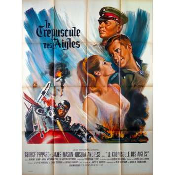 LE CREPUSCULE DES AIGLES Affiche de film - 120x160 cm. - 1966 - James Mason, John Guillermin