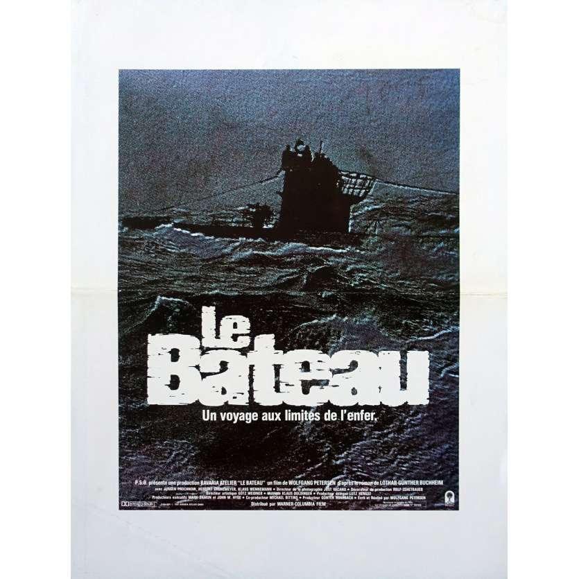 DAS BOOT Original Herald - 9x12 in. - 1981 - Wolfgang Petersen, Jürgen Prochnov