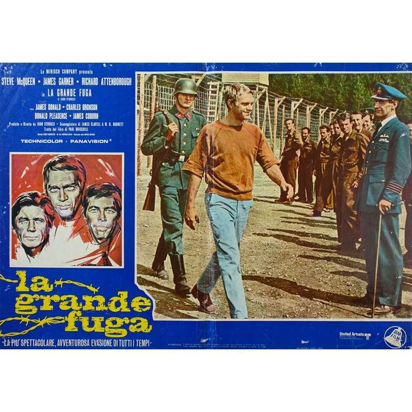 THE GREAT ESCAPE Original Photobusta Poster N01 - 18x26 in. - 1963 - John Sturges, Steve McQueen