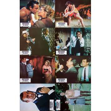 FROM RUSSIA WITH LOVE Original Lobby Cards x8 - 9x12 in. - R1970 - Terence Young, Sean Connery