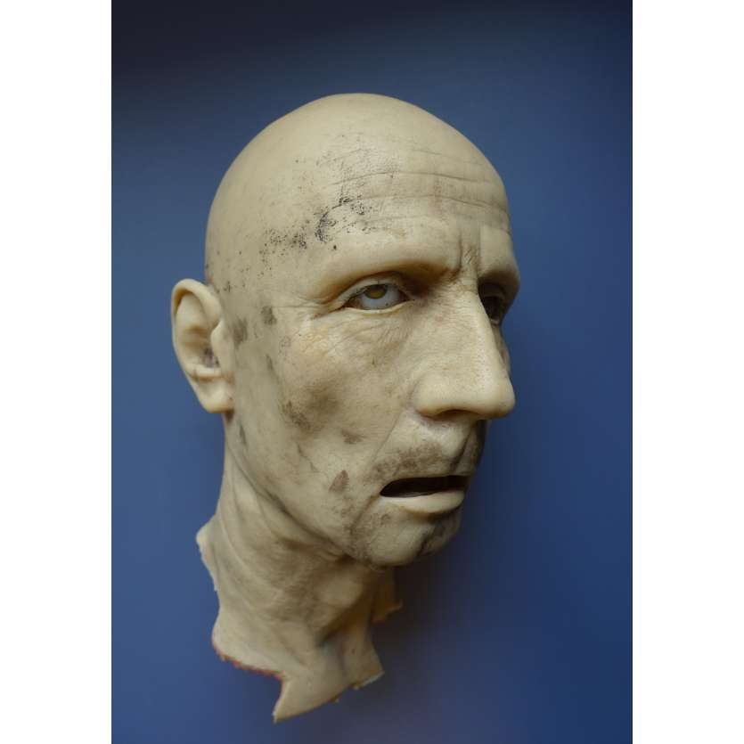 SAVING PRIVATE RYAN Original Production-Used Movie Prop (Head) - 1998 - With COAs, Spielberg