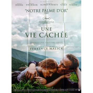 A HIDDEN LIFE Original Movie Poster - 47x63 in. - 2019 - Terrence Malick, August Diehl