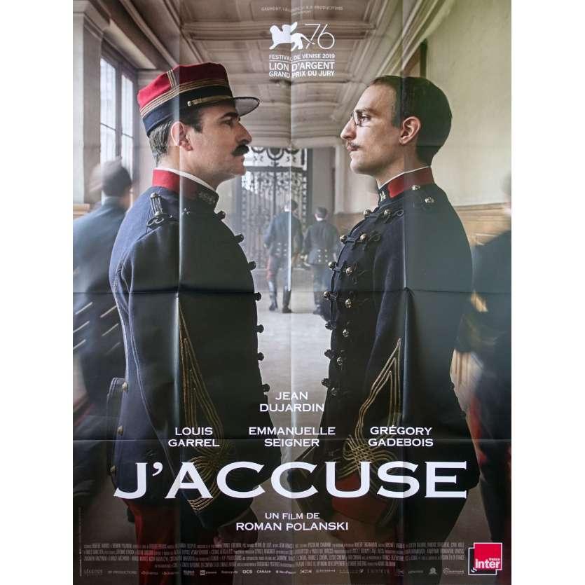 J'ACCUSE Affiche de film - 120x160 cm. - 2019 - Jean Dujardin, Roman Polanski