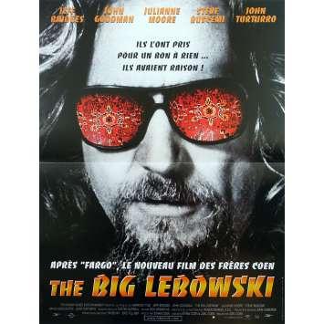 THE BIG LEBOWSKI Affiche de film - 40x60 cm. - 1998 - Jeff Bridges, Joel Coen