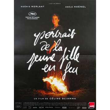 PORTRAIT OF A LADY ON FIRE Original Movie Poster - 15x21 in. - 2019 - Céline Sciamma, Adèle Haenel