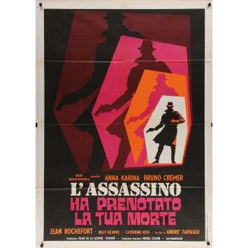 LE TEMPS DE MOURIR Affiche de film - 100x140 cm. - 1970 - Anna Karina, André Farwagi